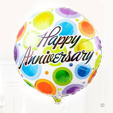 balloon delivery uk gift delivery happy anniversary balloon isle of wight flowers