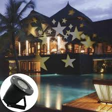 outdoor halloween projector gesimei led moving warm white star spotlights indoor outdoor