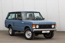 land rover classic for sale 1989 land rover range rover turbo classic d peter vardy heritage