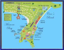 ideal resort map st s club antigua restaurants bars facilities