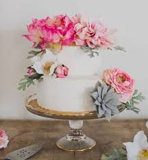 wedding cake diy silk flower diy wedding cake allfreediyweddings