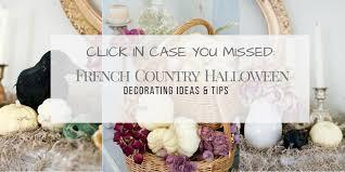 french country halloween decor ideas diy halloween decor