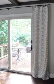 Curtains Over Blinds Best 25 Patio Door Curtains Ideas On Pinterest Sliding Door