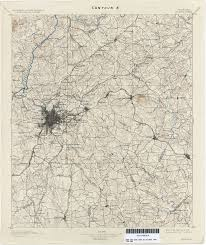 Map Of Atlanta Georgia Historical Topographic Maps Perry Castañeda Map