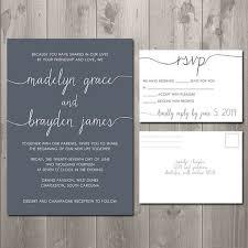 wedding invitation sets sle wedding invitations and rsvp card sets modern ideas