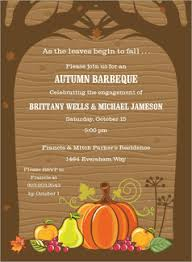 thanksgiving invites fall invitations invitation box