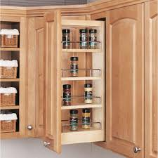 Kitchen Cabinet Slide Out Organizers 77 Most Natty Pull Out Spice Rack Pantry Cabinet Organizer Lowes