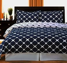 New York City Duvet Cover Navy Blue And White Duvet Cover Home Design Ideas Pertaining To 17