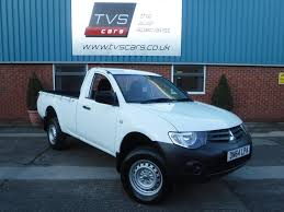 mitsubishi pickup trucks used mitsubishi l200 2 doors for sale motors co uk