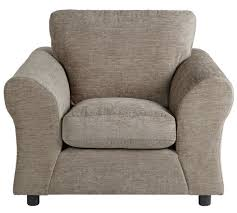 Small Fabric Armchairs Buy Home New Clara Fabric Armchair Mink At Argos Co Uk Your