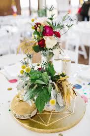 geometric decor for your modern wedding mywedding