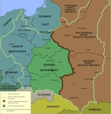 Southern Germany Map by Location Of Auschwitz Concentration Camp