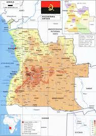 Angola Map Angola