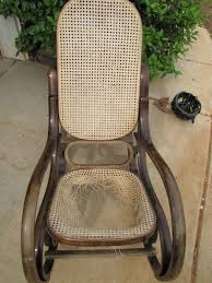 Rocking Chair Old Fashioned Vintage Wicker Rocking Chair Value Home Chair Decoration