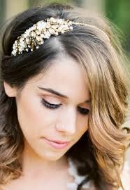 bridal headband megara bronze bridal headband bridal headpieces