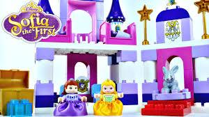 princess sofia royal lego castle disney duplo preschool