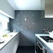 horloge pour cuisine moderne pendule moderne cuisine horloge diamatre 395 cm fourchettes et