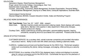 Sample Resume For Retail Store by Sample Resume Health Information Management Him Manager Resume