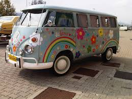 van volkswagen vintage t1 vintage bus design version flower power like in faceb