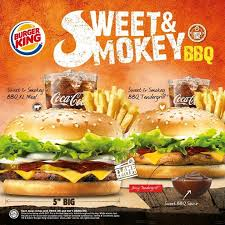 burger king sweet u0026 smokey bbq promotion loopme malaysia