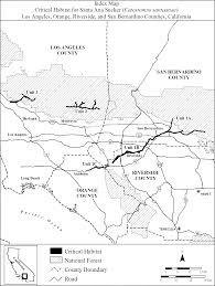 San Bernardino Ca Map Federal Register Endangered And Threatened Wildlife And Plants