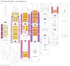 costa marina deck plans diagrams pictures video