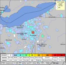 Cleveland Zip Code Map by As Ohio Earthquakes Are Linked To Fracking Investor Support Grows
