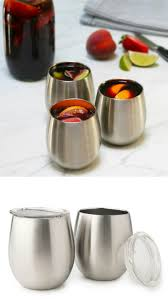 u konserve insulated stainless wine glasses are amazing for