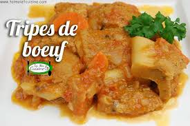 bonne cuisine camerounaise ragoût de tripes de boeuf tchop afrik a cuisine