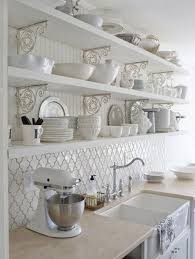 shabby chic kitchen furniture 28 ideas para decorar una cocina al estilo vintage kitchen wall