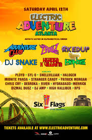 Six Flags In Illinois Tickets Festival Electric Adventure U2013 Atlanta Ga Tickets And Lineup On