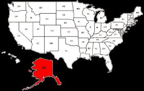 alaska on map alaska maps and data myonlinemaps com