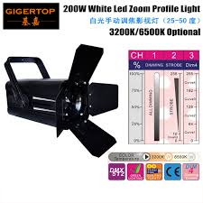 stage lighting mounting bars tiptop tp 015 200w white led zoom profile light stage truss mounting