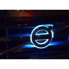 volvo logo led logo lightning white volvo fh fm4 24v