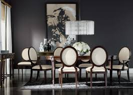 sophistication reigns dining room ethan allen modern interiors