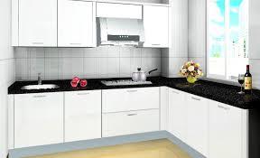 Cream Kitchen Cabinets With Black Countertops White Kitchen Cabinets With Creme Countertop The Perfect Home Design