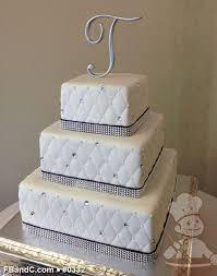 wedding cakes with ribbon on them burlap ribbon wedding cake