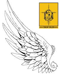 grey phoenix with wings open tattoo design photos pictures and