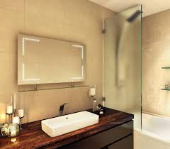 Heated Bathroom Mirror by Heated Bathroom Mirrors Heated Bathroom Mirror With Lights