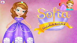 princess sofia dress makeover video sofia games