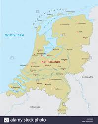 Map Netherlands Germany Map Netherlands Stockfotos U0026 Germany Map Netherlands