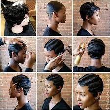 black hair 27 piece with sidebob the 25 best finger waves ideas on pinterest finger waves