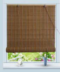 Bamboo Curtains For Windows Bamboo Roll Up Window Blind Sun Shade W32 X H72