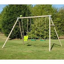 childrens swings u0026 swing sets garden u0026 wooden swings compare4kids