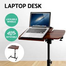 Adjustable Laptop Desks by Laptop Desk Stand Bedside Table Tray Pc Ipad Mobile Note Book