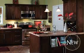 Mocha Kitchen Cabinets by Fulton Mocha Glaze All Wood Cabinets