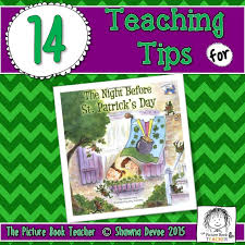 the picture book teacher u0027s edition the night before st patrick u0027s