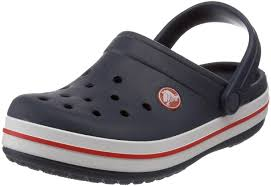 crocs unisex kids u0027 crocband clogs navy blue red boys u0027 shoes