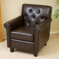 shop best selling home decor veronica casual brown faux leather