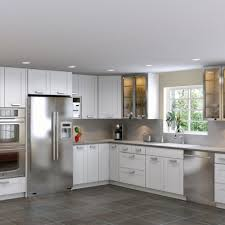 Commercial Kitchen Island Stainless Steel Commercial Kitchen Cabinets Orange Wood Material